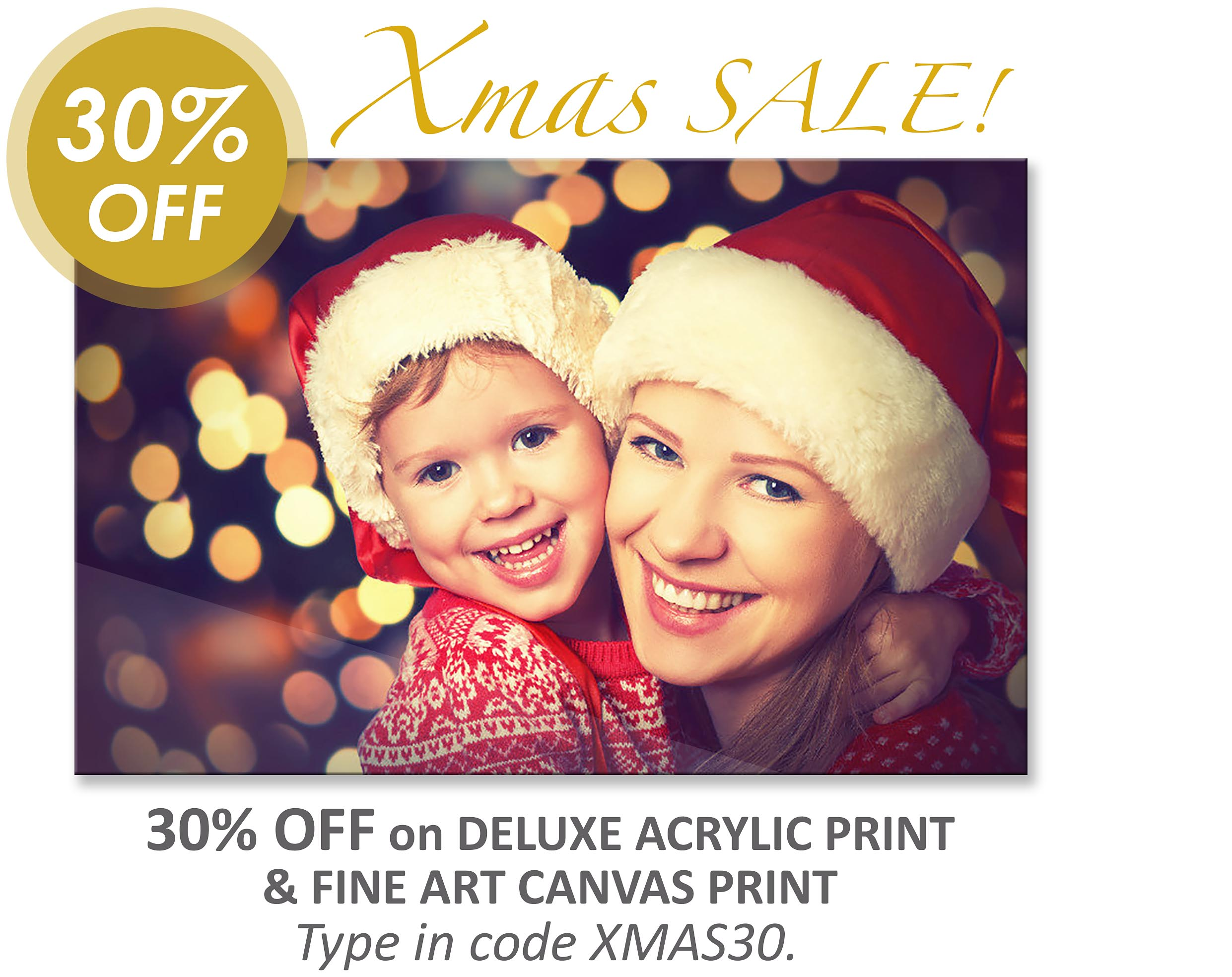 Deluxe Art Acrylic Printing Christmas Sale 17Nov2017 Home.v4
