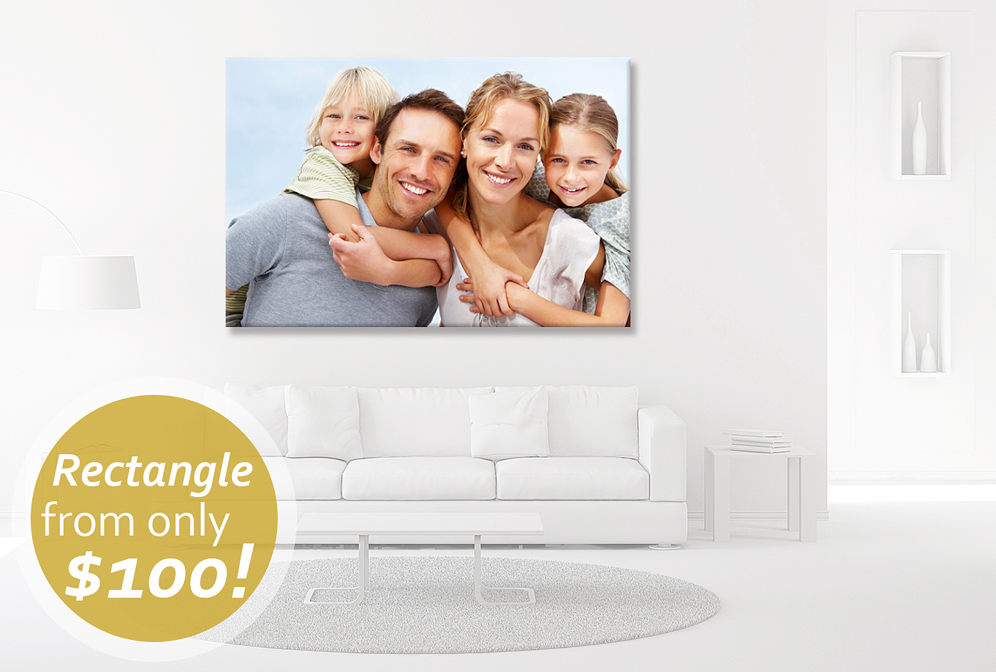 Deluxe Art Canvas Prints Rec