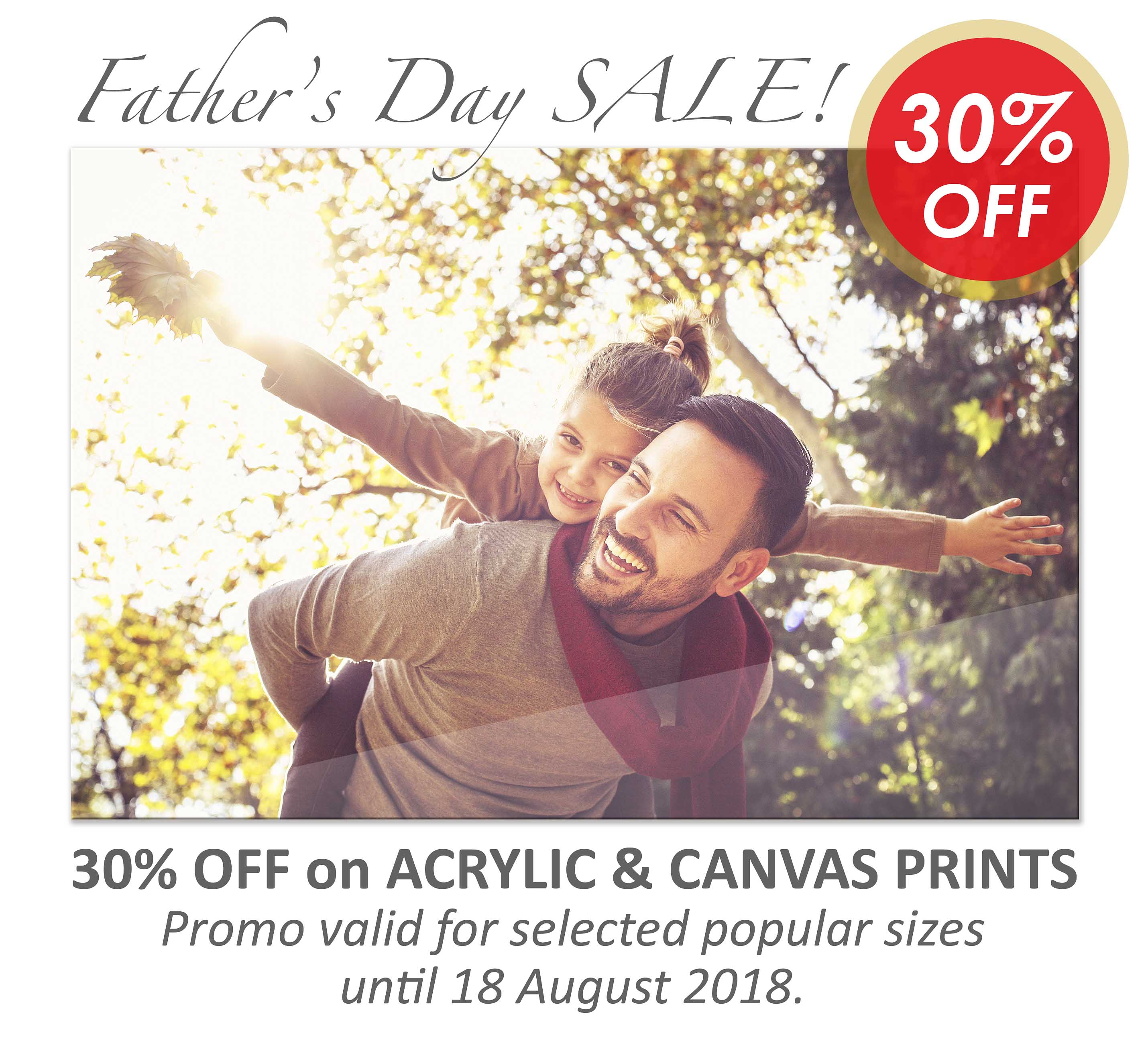 Deluxe Art Fathers Day Sale 30 OFF