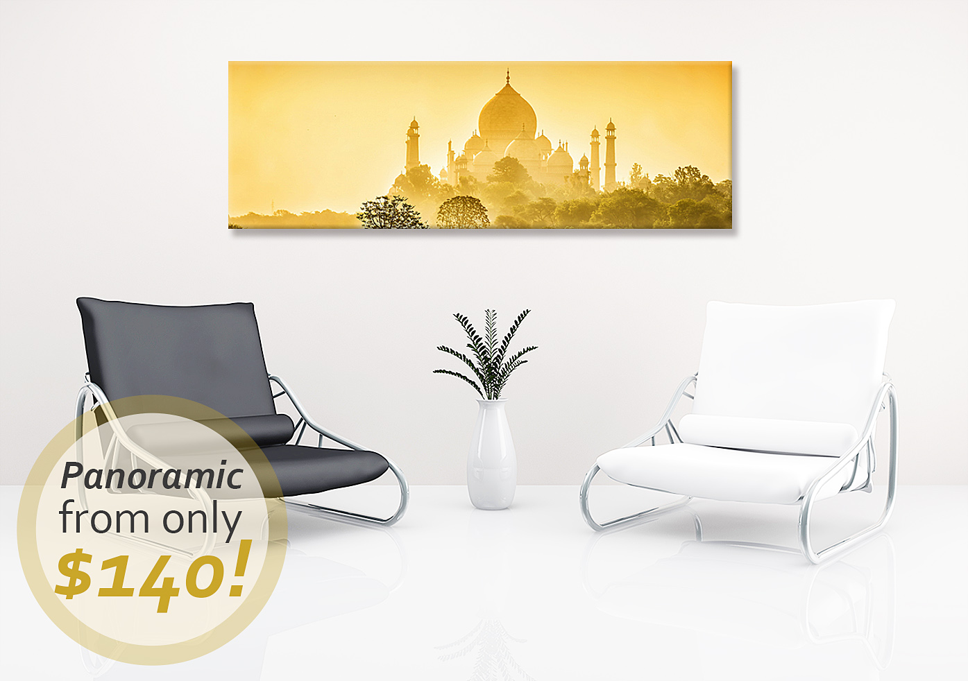 Deluxe Art Fathers Day Sale 30 OFF Canvas Print Pano
