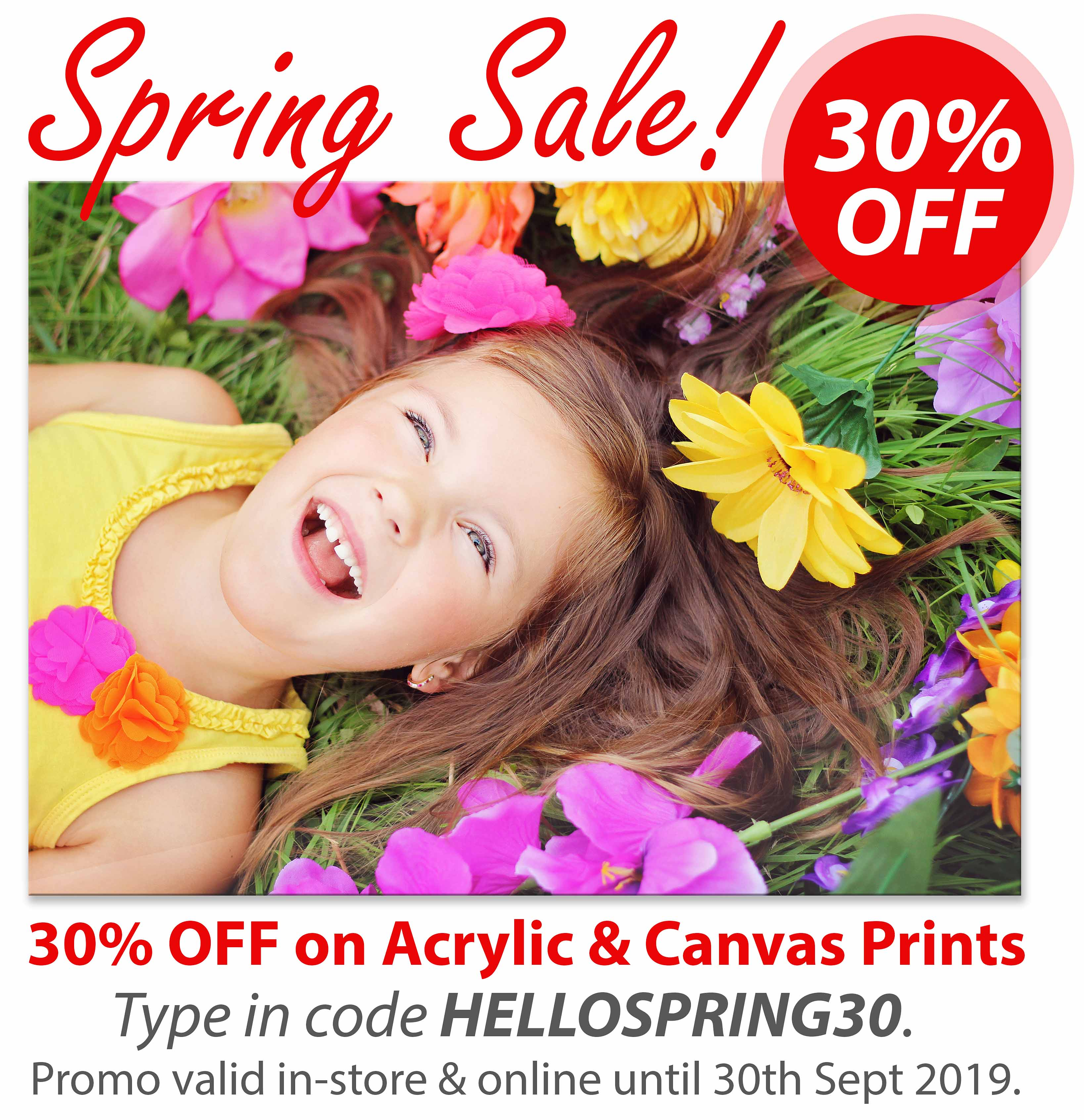 Deluxe Art SPRING SALE 2019 Acrylic Print and Canvas Print Extended