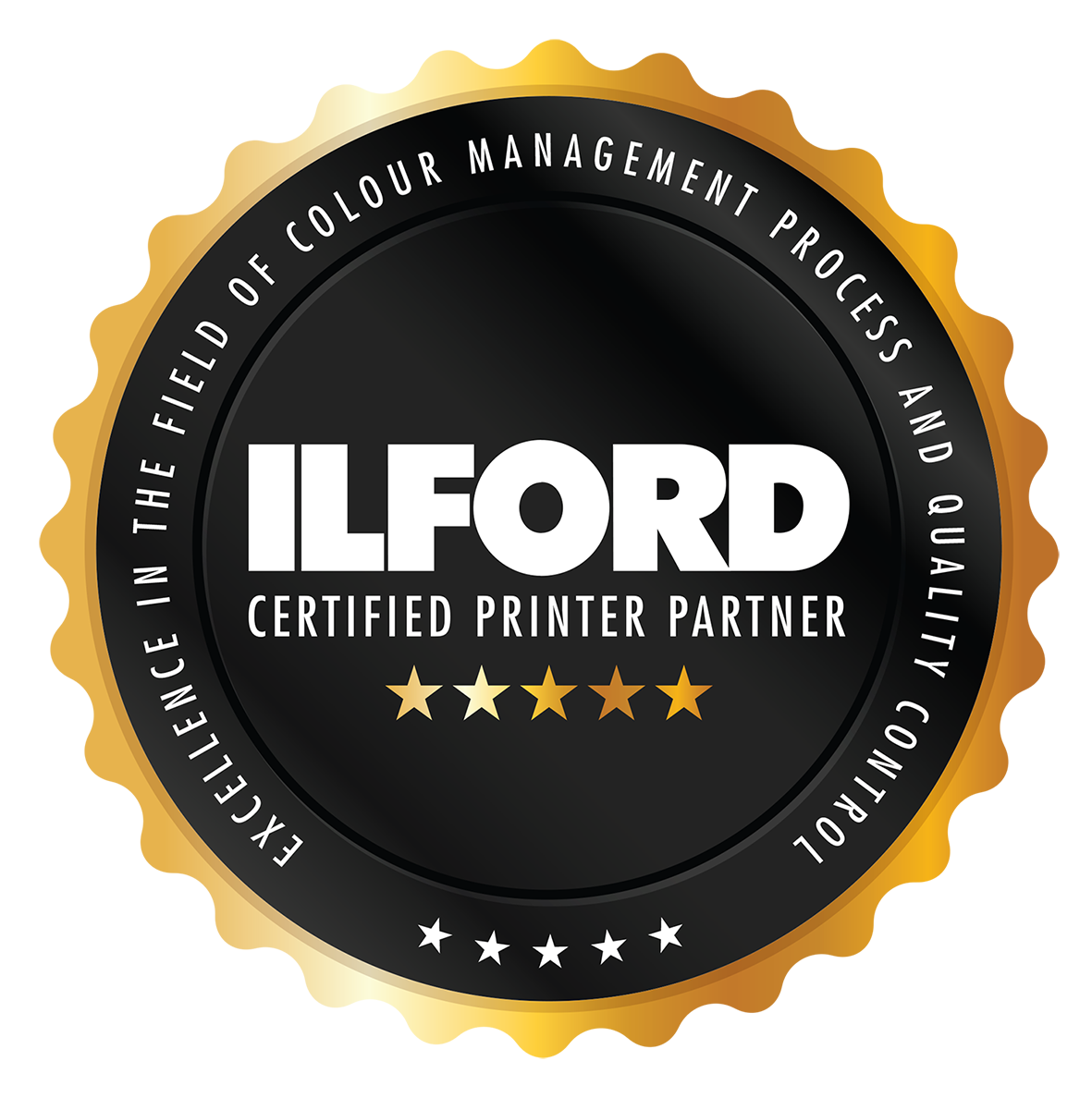 ILFORD - CERTIFIED PRINTER PARTNER BADGE copy