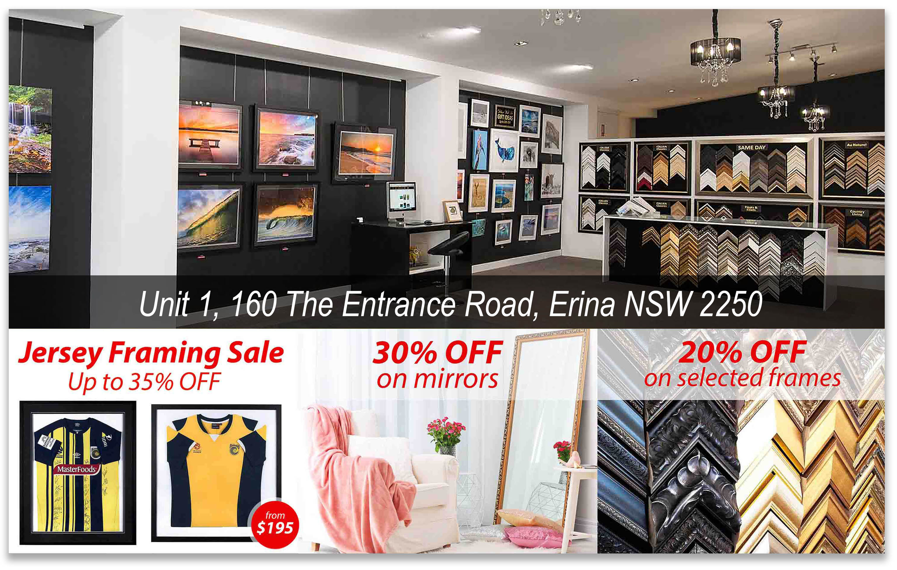 Picture Framing Central Coast Picture Framing Erina Mar20.v2